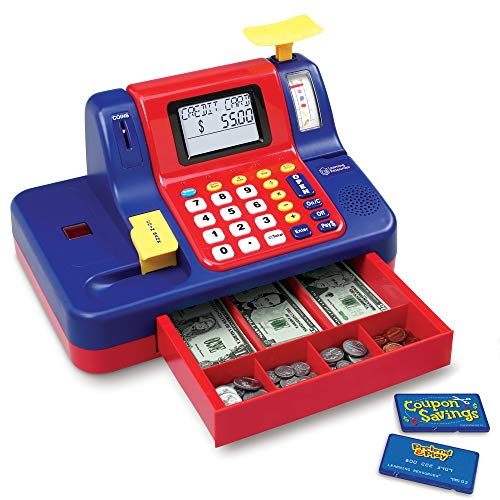 Learning Resources Pretend & Play Teaching Cash Register [Standard Packaging]
