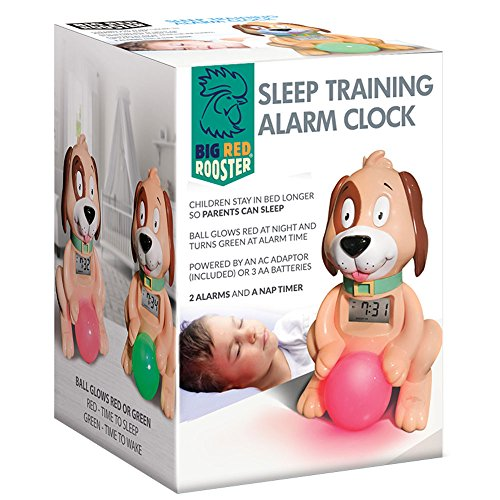 Big Red Rooster BRRC105 Sleep Training Alarm Clock for Kids   Plug in Kids Alarm Clock   Toddler Clock   Boy Or Girls Alarm Clock   Childrens Alarm Clock   Time to Wake Clock