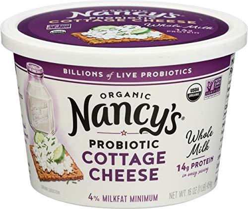 Nancys Yogurt, Cottage Cheese Whole Milk Organic, 16 Ounce