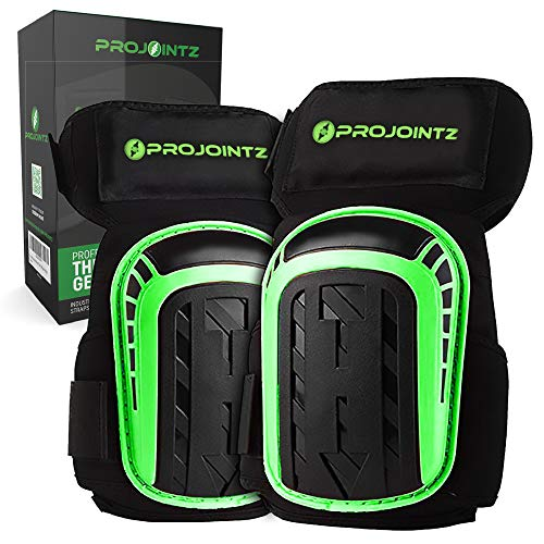 Knee Protector - Knee Pads for Work Thigh High Professional Gel Knee Pads Heavy Duty for Construction, Flooring, Gardening and Cleaning. Best style knee pads for comfort, protection and durability.…