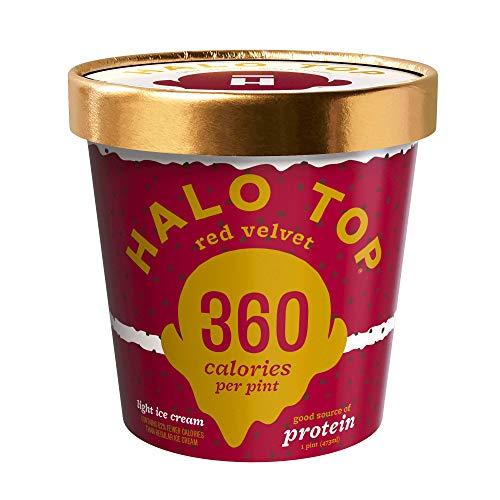 Halo Top Red Velvet, 16 oz (Frozen)