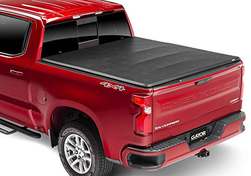Gator ETX Soft Tri-Fold Truck Bed Tonneau Cover   59312   Fits 2015 - 2020 Ford F-150 5' 5' Bed   Made in the USA