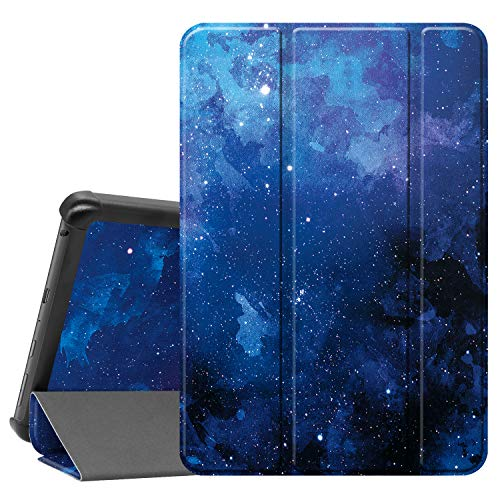 Famavala Shell Case Cover Compatible with All-New 8' Fire HD 8 / Plus (10th Generation 2020 Release) Tablet (BlueSky)