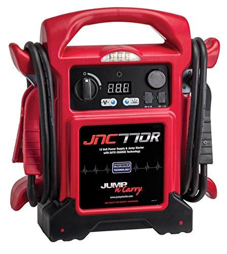 Clore Automotive JNC770R Jump-N-Carry Red 1700 Peak Amp Premium 12 Volt Jump Starter