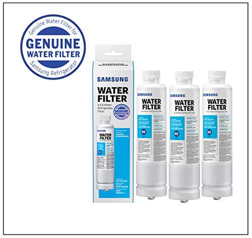 Samsung Electronics HAFCIN Samsung DA29-00020B Refrigerator Water Filter, 3 Pack, White
