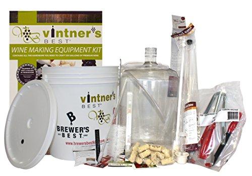 Starter Equipment Kit w/ Better Bottle & Double Lever Corker