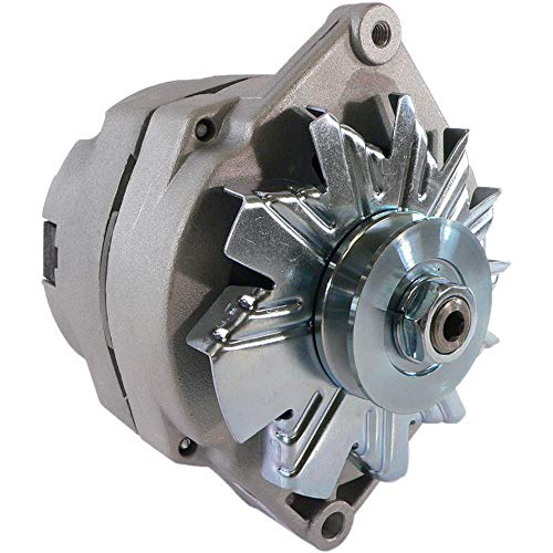 NEW DB Electrical ADR0152 Alternator For 1 Wire Universal Self-Excited 10Si 10 Si 63 Amp / Internal Regulator / Negative Polarity / External Fan / 10459509, 90-01-3125, 90-01-3125S, 70-01-7127SE