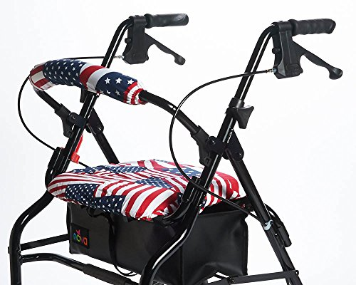 RMS Walker Seat & Rollbar Cover Set (US Flags)