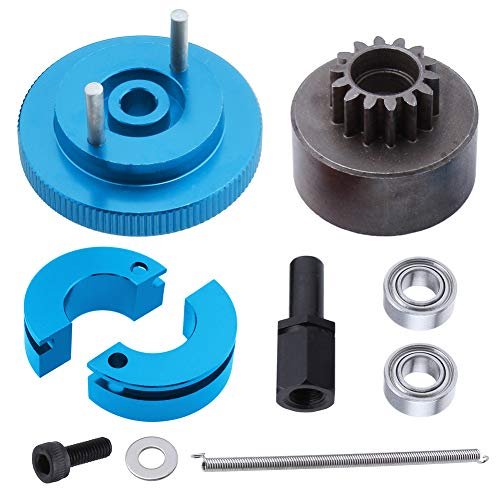 RC Clutch Bell 14T Flywheel Assembly Kit with Ball Bearing Spring VX SH 18 Nitro Engine Parts for 1/10 RC Model Car