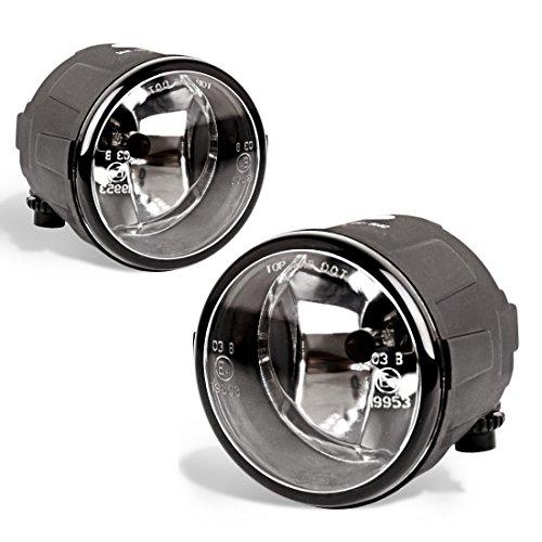 Fog Lights For Nissan Cube Juke Quest Murano Rogue Versa Infiniti FX EX QX M G Q (OE Style Glass Lens w/ H8 12V 35W Bulbs)