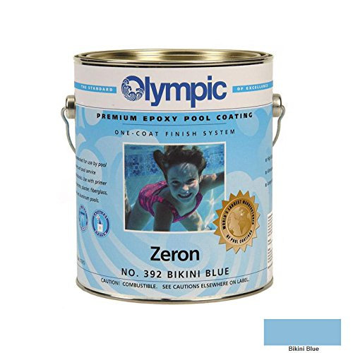 Kelley Technical 391GL Olympic Zeron Epoxy Pool Coating - Blue Ice
