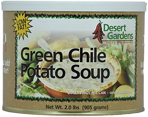 Desert Gardens Green Chile Potato Soup - 24 Serving Canister