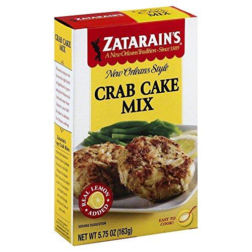 ZATARAINS MIX CAKE CRAB, 5.75 OZ (PACK OF 3)