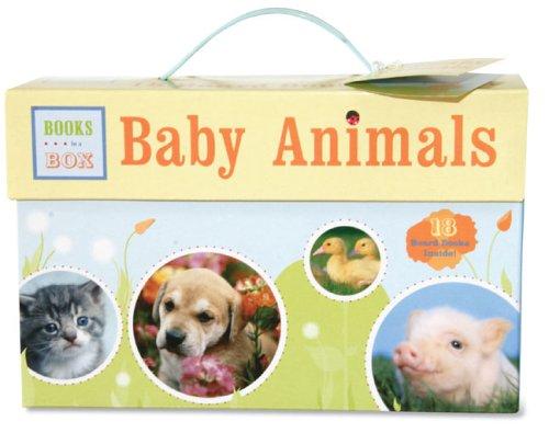 Baby Animals: Books in a Box: 18 Board Books Inside!