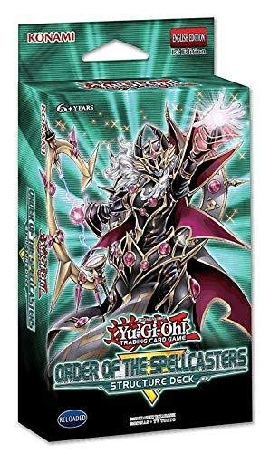 Yu-Gi-Oh! Cards Order of The Spellcasters Structure Deck   3 Super Rares   2 Ultra Rares