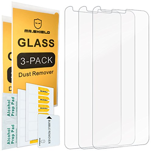 [3-Pack]-Mr.Shield for LGStylo4 [Tempered Glass] Screen Protector with Lifetime Replacement