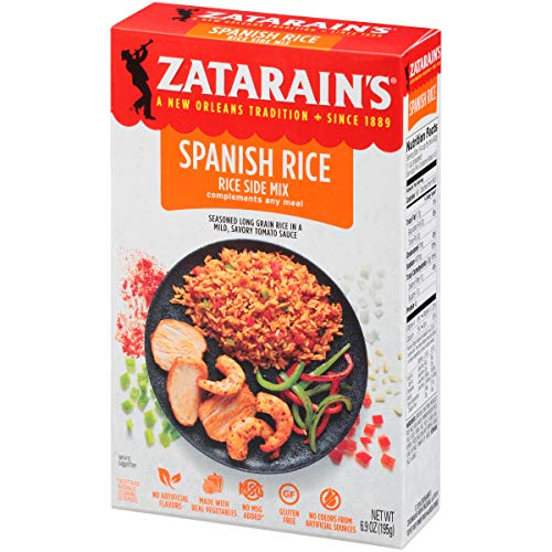 Zatarain's New Orleans Style Spanish Rice Mix, 6.9 oz (Pack of 6)