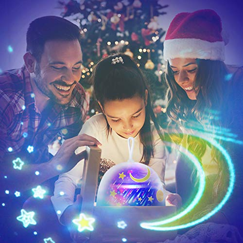 Star Night Lights for Kids Star Projector Night Light Projection Lamp for Children Baby Nursery Bedroom Birthday Gifts