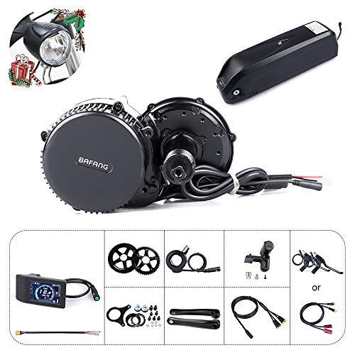 Bafang BBS02B 48V 750W Mid Drive Electric Bike Motor Ebike Conversion Kit Mid Motor for Mountain Bike Road Bike with Optional 48V 11.6Ah/17.5Ah and 52V 14Ah Battery