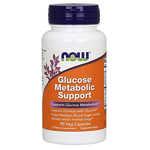 NOW Supplements, Glucose Metabolic Support, a Superior Formula with GlucoFit, 90 Capsules