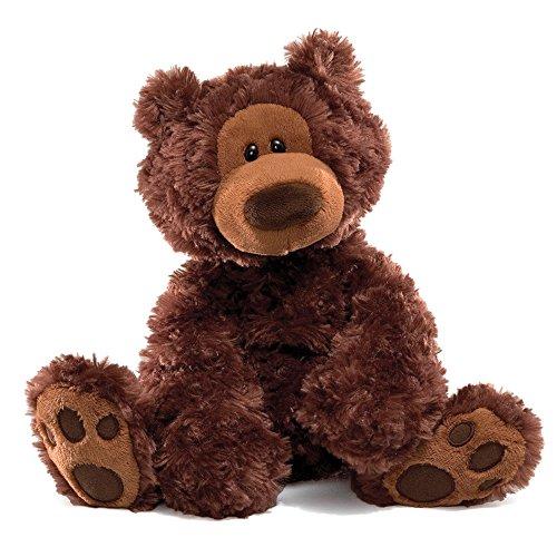 GUND Philbin Teddy Bear Stuffed Animal Plush, Chocolate Brown, 12'