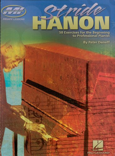 Stride Hanon: 60 Exercises for the Beginning to Professional Pianist