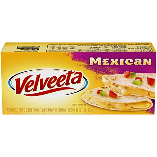 Velveeta Mexican Mild Pasteurized Cheese (16 oz Box)