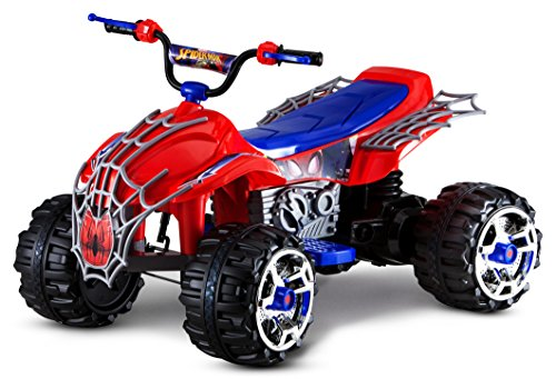 Kid Trax Electric Kids Ride-on Toy, Rechargable Battery, Spider Man, 12V