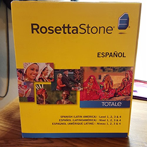 Rosetta Stone Spanish (Latin American) Levels 1-5