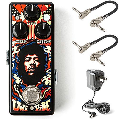 MXR JHW3 Jimi Hendrix Uni-Vibe Chorus/Vibrato Mini Bundle with 2 MXR Patch Cables