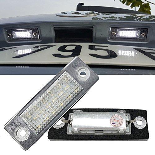 VW LED License Plate Light - NSLUMO Led Number Plate Lamp For Volkswagen Vw Candy Golf Jetta Passat Touran Transporter Led Assembly Tail Rear Light