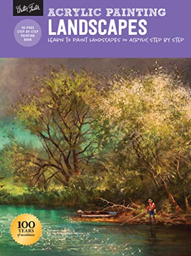 Acrylic Painting: Landscapes: Learn to paint landscapes in acrylic step by step (How to Draw & Paint)