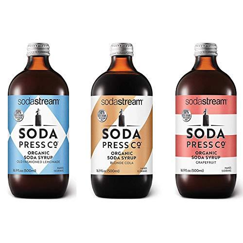 Soda Press Classic Flavors Variety Pack for SodaStream, 16.9 Fl Oz