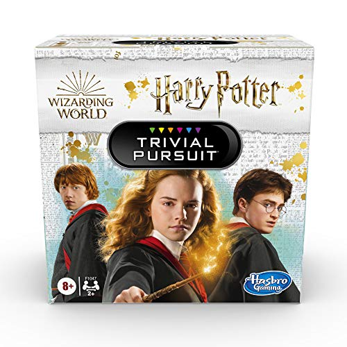 Trivial Pursuit: Wizarding World Harry Potter Edition Compact Trivia Game for 2 or More Players, 600 Trivia Questions, Ages 8 and Up (Amazon Exclusive)
