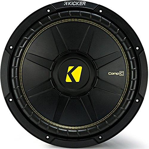 Kicker CWCD124 CompC 12' Subwoofer Dual Voice Coil 4-Ohm