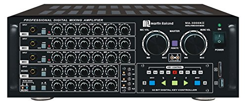 MA-3000KII 750W Karaoke Mixing Amplifier