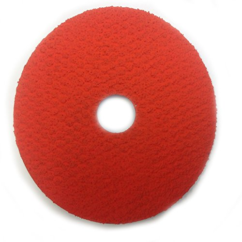 Sungold Abrasives 17562 36 Grit Excella Orange Ceramic Fibre Disc (25 Pack), 5' x 7/8' Center Hole
