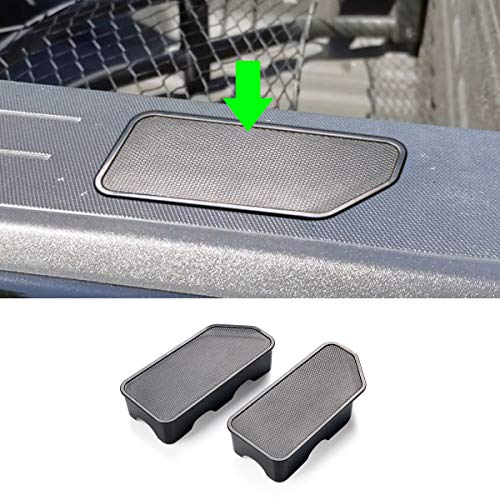 TTCR-II for 2015-2020 Chevy Colorado GMC Canyon Bed Rail Stake Hole Cover Caps (2 Packs)