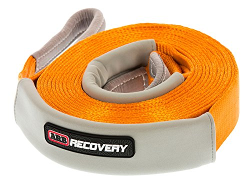 ARB 4x4 Accessories ARB705LB Orange 30' x 2 3/8' Snatch Strap Recovery, 1 Pack