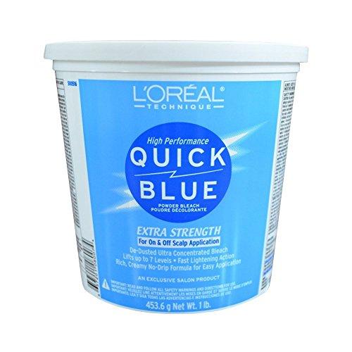 L'Oreal Quick Blue Powder Bleach, 16 Ounce