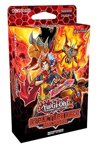 Yu-Gi-Oh! Cards Soulburner Structure Deck