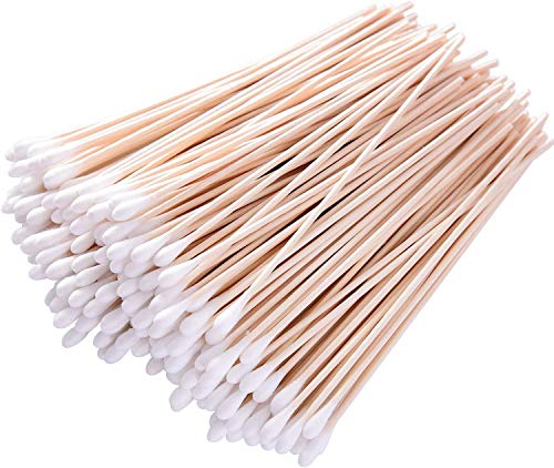2000 pcs 6 inch Cotton Swabs with Wooden Handles/Long Cotton Tipped Applicator