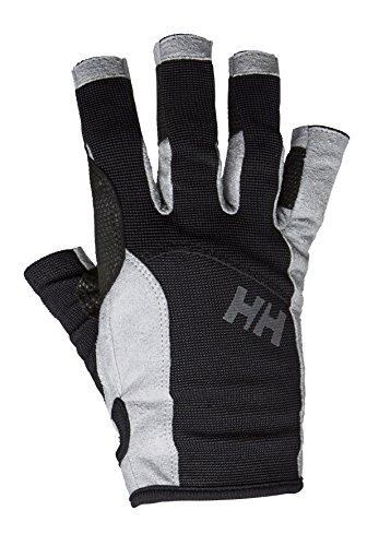 Helly-Hansen Unisex Sailing Glove Short, Black, Small