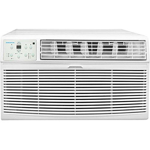 Emerson Quiet Kool 230V 12K BTU Air Conditioner with Remote Control-Quiet In Wall A/C Unit, EATC12RE2, White