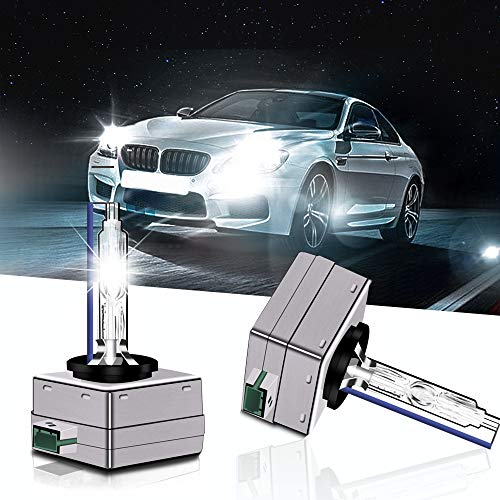 D3S D3R HID Xenon Bulb Headlight 35W OEM Lamp Replace for Philips or OSRAM Bulbs 2PCS(8000K Ctystal Blue)