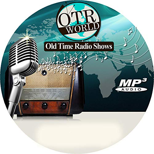 Mysterious Traveler Old Time Radio Shows OTR MP3 On CD 62 Episodes