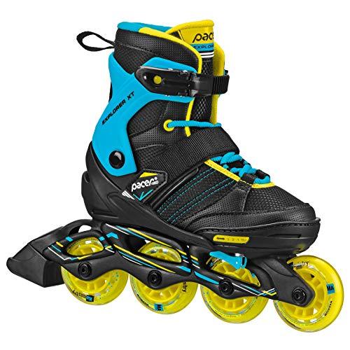 Pacer Explorer Children's Youth Inline Adjustable Skates (boy Medium)