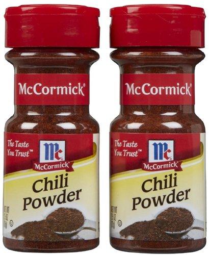 McCormick Chili Powder, 2.5 oz, Pack of 2