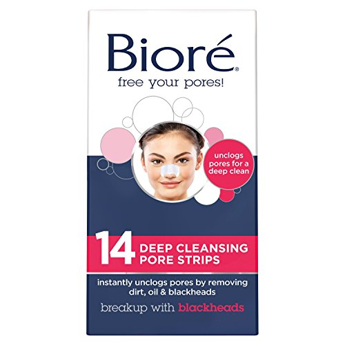 Biore Deep Cleansing Pore Strips, 14 Count
