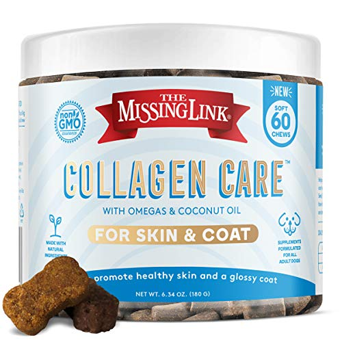 The Missing Link Skin & Coat Collagen Care Soft Chews  Adult Dogs